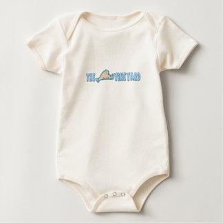 "Martha's Vineyard ""Map"" Design. Baby Bodysuit"