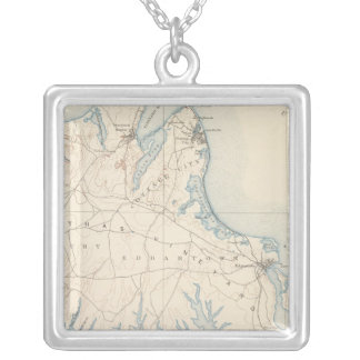 Martha's Vineyard, Massachusetts Silver Plated Necklace