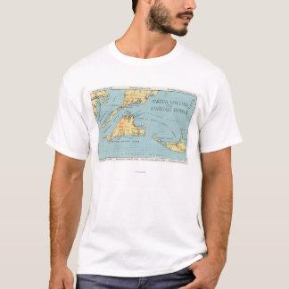 Martha's Vineyard & Nantucket Islands T-Shirt