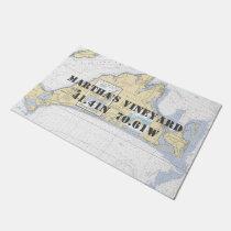 Martha's Vineyard Nautical Boating Doormat