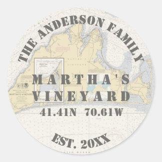 Martha's Vineyard Nautical Envelope Seals Boaters