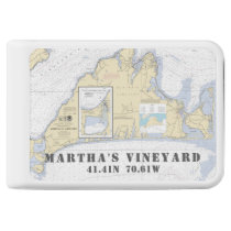 Martha's Vineyard Nautical Latitude Longitude Power Bank