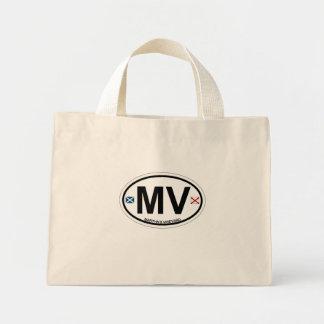 Martha's Vineyard Oval Design. Mini Tote Bag