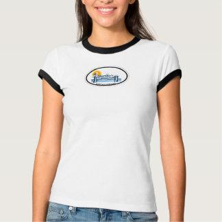 Martha's Vineyard Oval Design. T-Shirt
