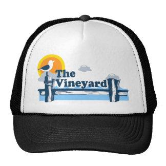 """Martha's Vineyard """"Pier"""" Design. Trucker Hat"""