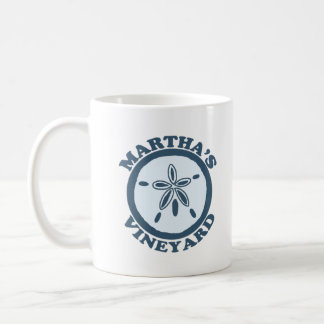 "Martha's Vineyard ""Sand Dollar"" Design. Coffee Mug"
