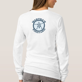 "Martha's Vineyard ""Sand Dollar"" Design. T-Shirt"