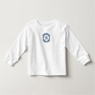 "Martha's Vineyard ""Sand Dollar"" Design. Toddler T-shirt"