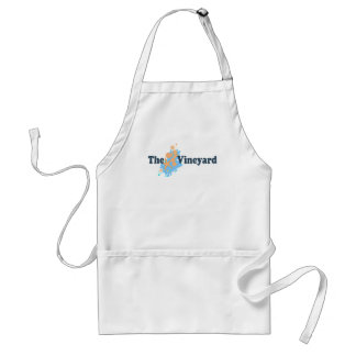 "Martha's Vineyard ""Seashells"" Design. Adult Apron"