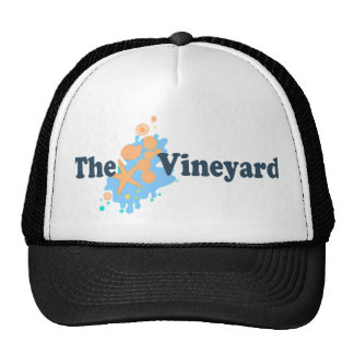 "Martha's Vineyard ""Seashells"" Design. Trucker Hat"