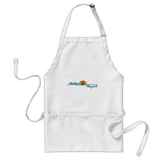 Marthas Vineyard Shark Adult Apron