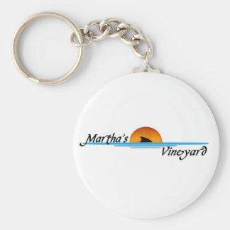 Marthas Vineyard Shark Key Chain