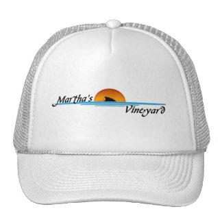 Marthas Vineyard Shark Trucker Hat