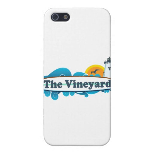 "Martha's Vineyard ""Surf"" Design. iPhone 5/5S Cover"