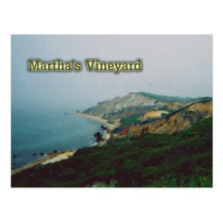 Martha's Vineyard Tarjeta Postal