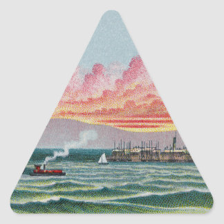 Martha's Vineyard Triangle Sticker