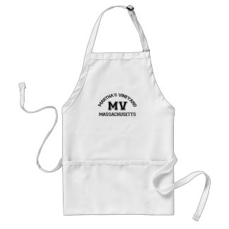 "Martha's Vineyard ""Varsity"" Design. Adult Apron"