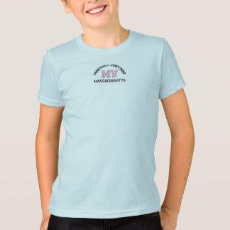 """Martha's Vineyard """"Varsity"""" Design. T-Shirt"""