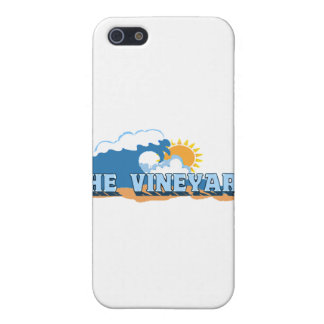 """Martha's Vineyard """"Waves"""" Design. Cover For iPhone SE/5/5s"""