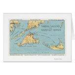 Martha's Vineyard y islas de Nantucket Tarjeta De Felicitación