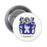 Marti Coat of Arms (Family Crest) Pinback Button