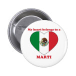 Marti Pinback Buttons