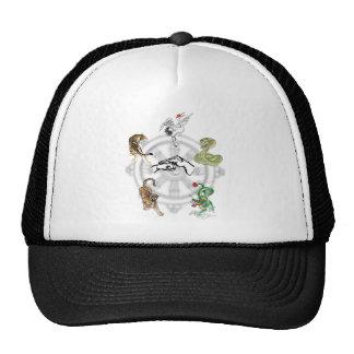 Martial Animals Trucker Hats