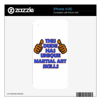 Martial art Designs iPhone 4S Decal