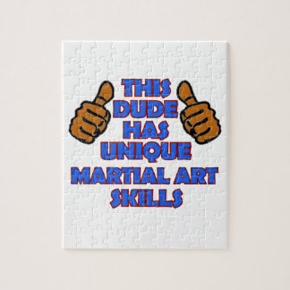 Martial art Designs Puzzle