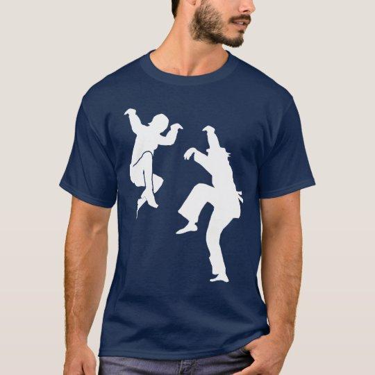 Martial Art on Movies - Crane Kicks T-Shirt