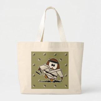 martial art owl bag