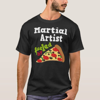 Martial Artist (Funny) Pizza T Shirt