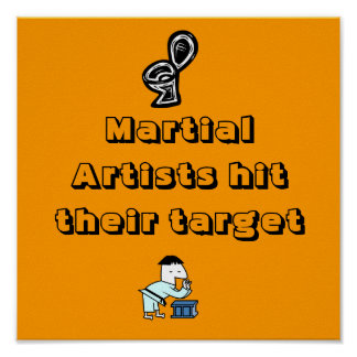 Martial Artists hit their target Poster