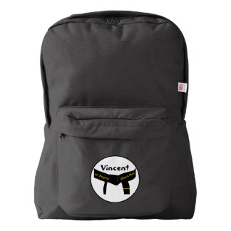 Martial Arts 1st Degree Black Belt Backpack