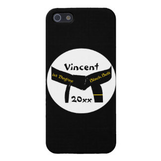Martial Arts 1st Degree Black Belt iPhone SE/5/5s Cover