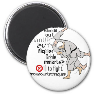 Martial ARts 2 Inch Round Magnet