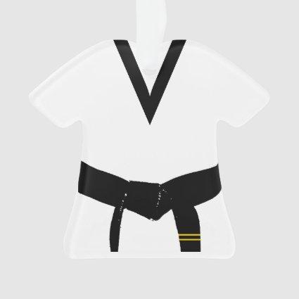 Martial Arts 2nd Degree Black Belt Uniform