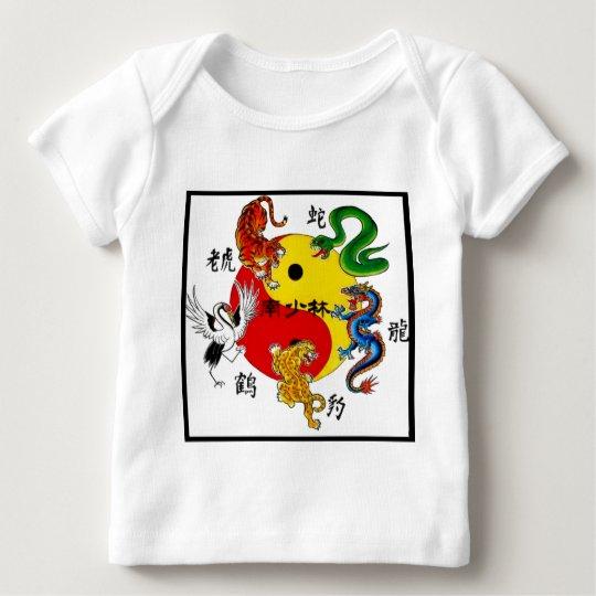 MARTIAL ARTS 5 ANIMALS BABY T-Shirt