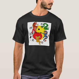 MARTIAL ARTS 5 ANIMALS T-Shirt