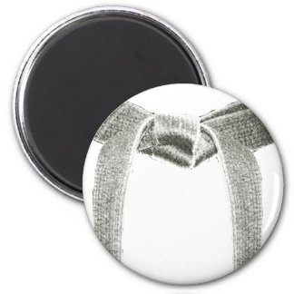 Martial Arts Belt Design Magnet