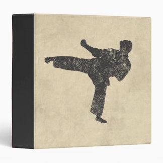 Martial Arts Vinyl Binder