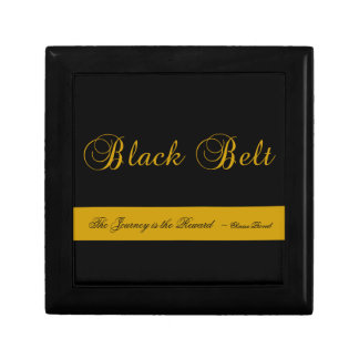 Martial Arts Black Belt Journey Gift Box