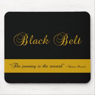 Martial Arts Black Belt Journey Mouse Pad