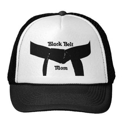 Martial Arts Black Belt Mom Hat
