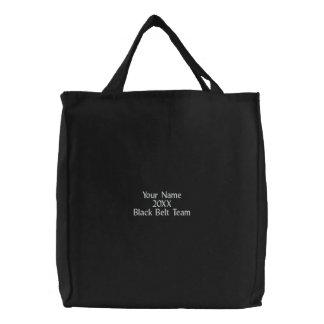 Martial Arts Black Belt Team Canvas Tote Bag