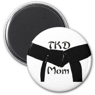 Martial Arts Black Belt TKD Mom Magnet