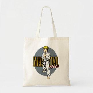 Martial Arts Boy Budget Tote Bag