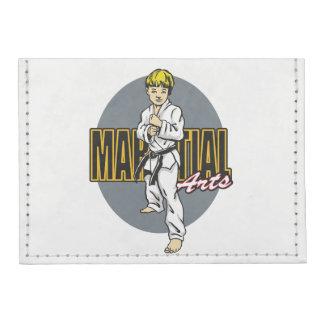 Martial Arts Boy Card Wallet