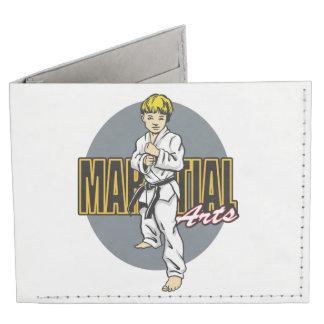 Martial Arts Boy Tyvek Wallet