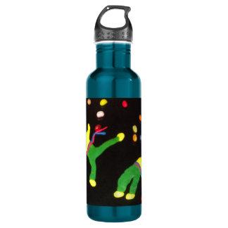 martial arts capoeira dance parcour water bottle